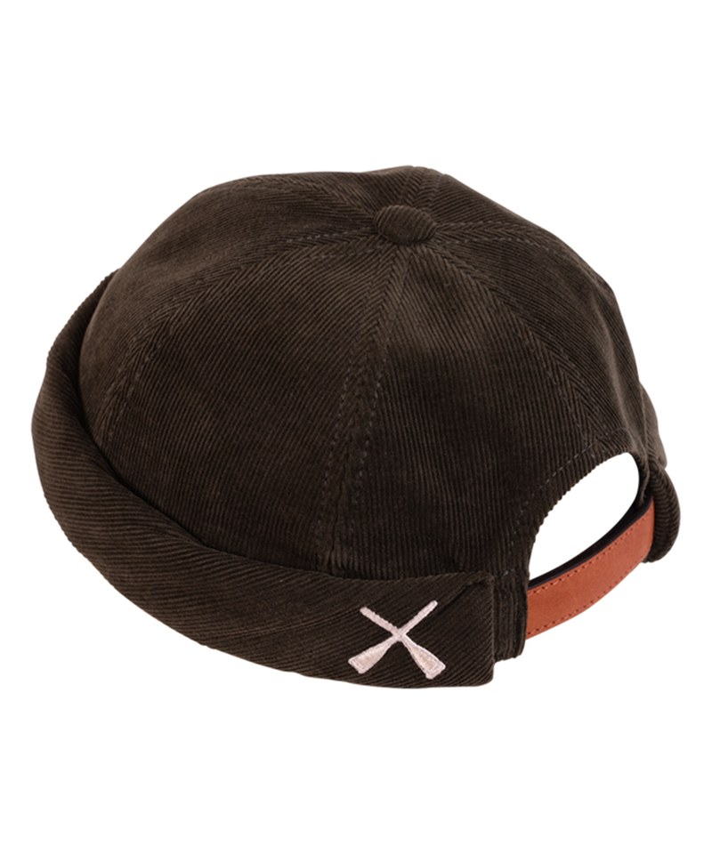 Miki Corduroy 燈芯絨水兵帽