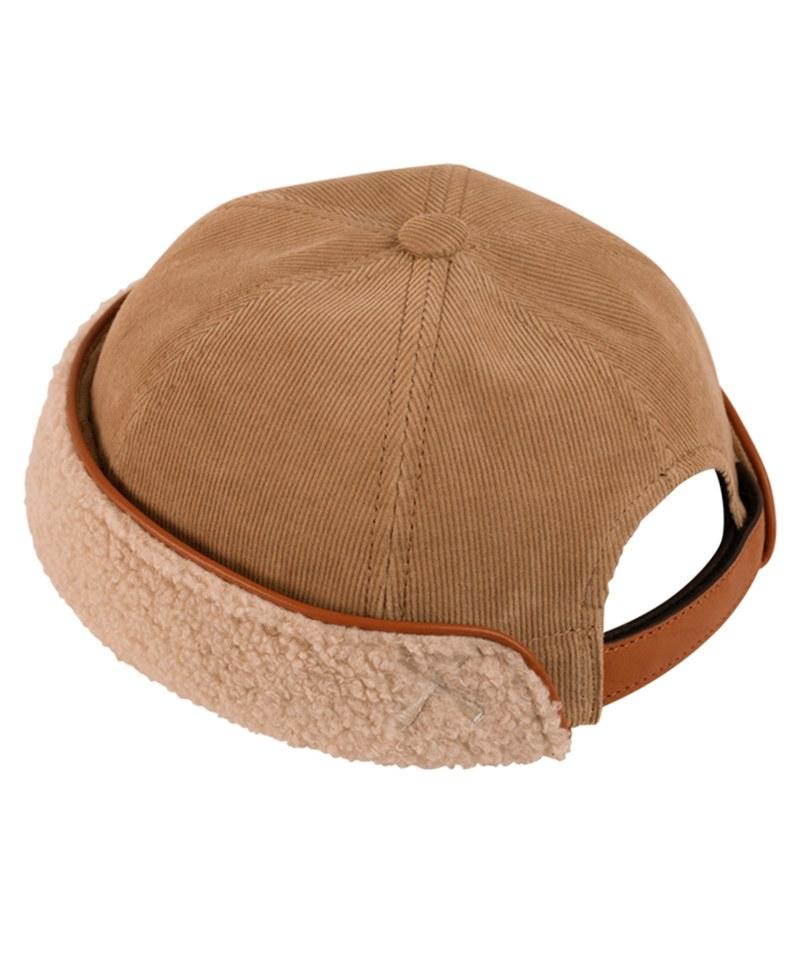 Miki Corduroy&Fleece 刷毛水兵帽