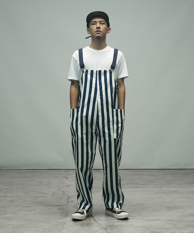 CKM1603 Fisherman s Bib Overall Pants 漁夫吊帶褲