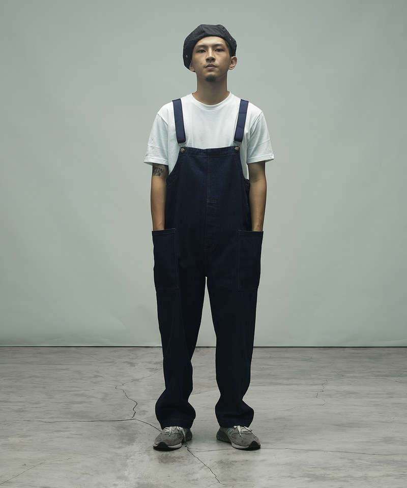 CKM1604 Fisherman's Bib Overall Pants 漁夫吊帶褲