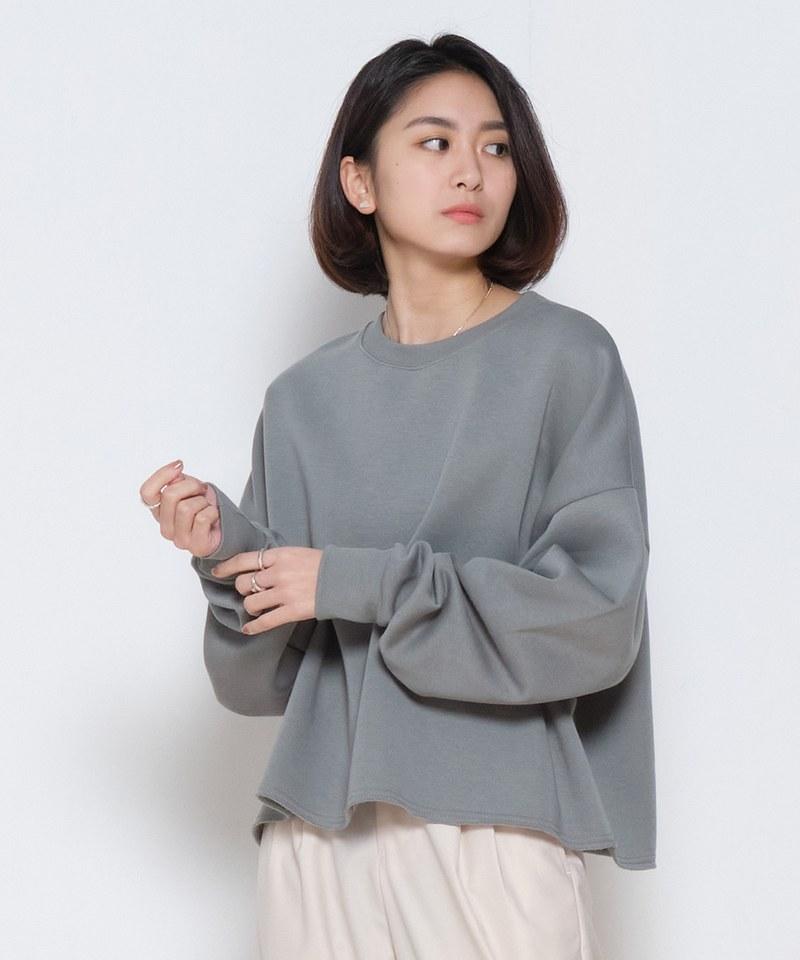 COP0049 女款短版 Oversized 衛衣