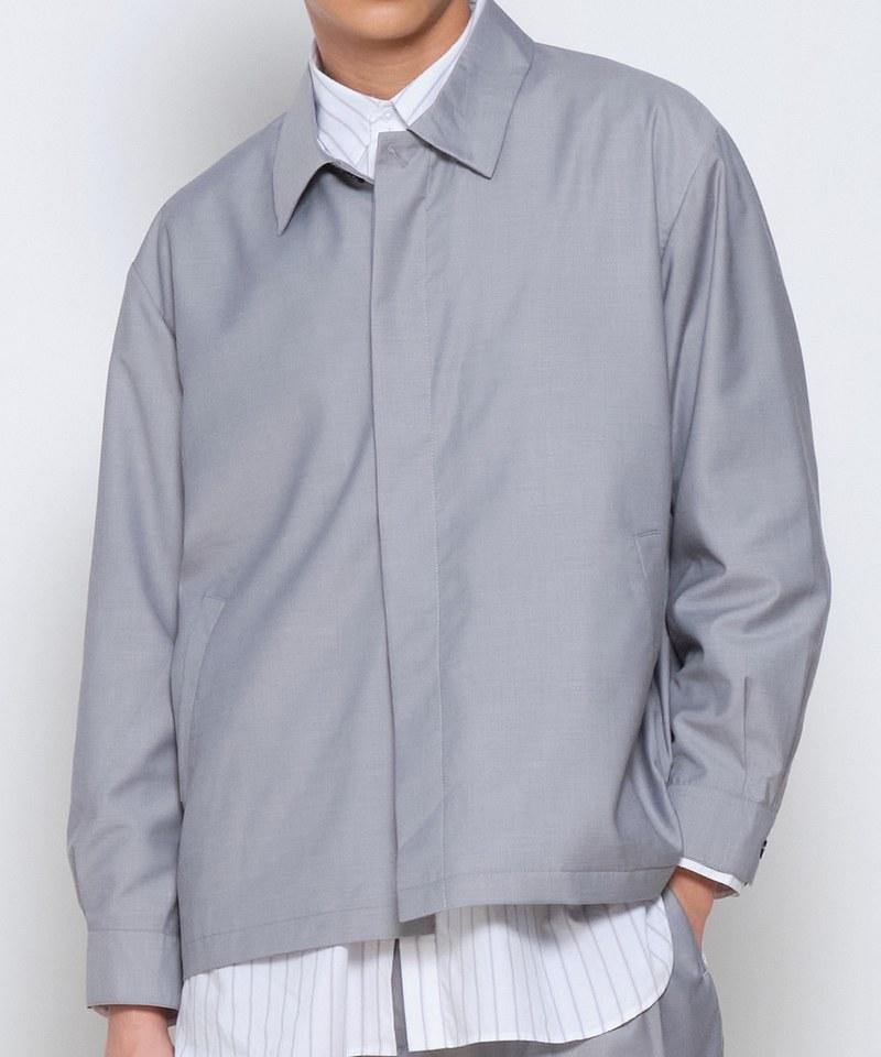COP1196 西裝料教練外套