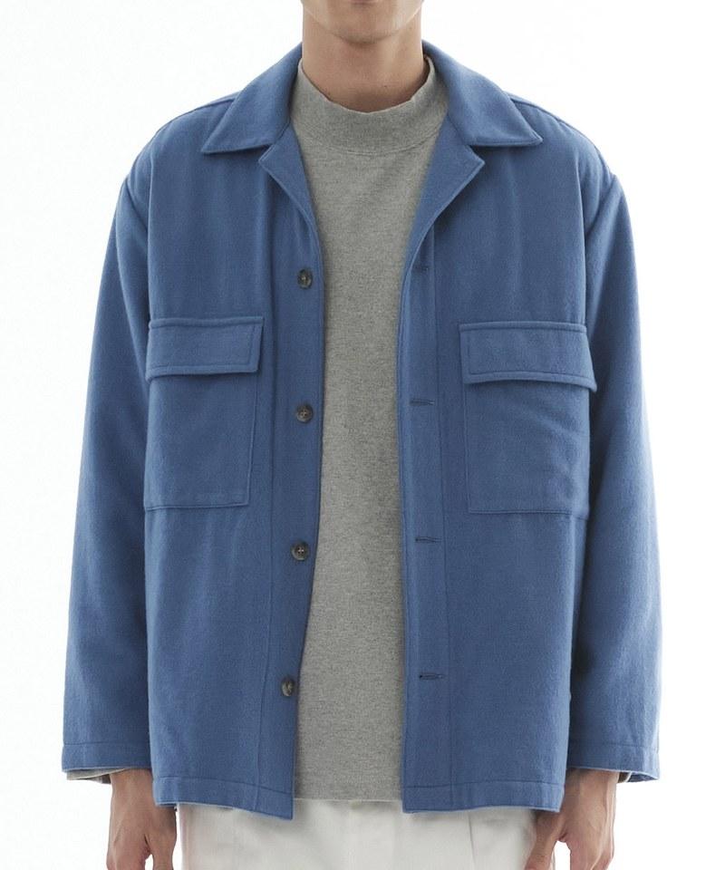 COP1197 羊毛混紡CPO外套