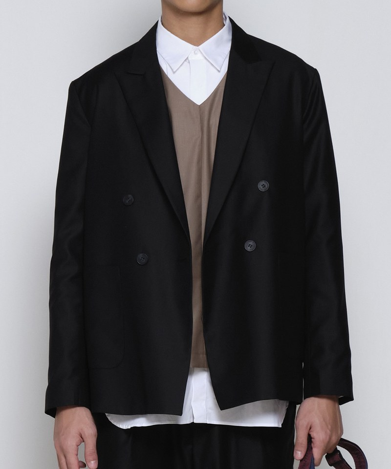 COP1199 雙排釦西裝外套