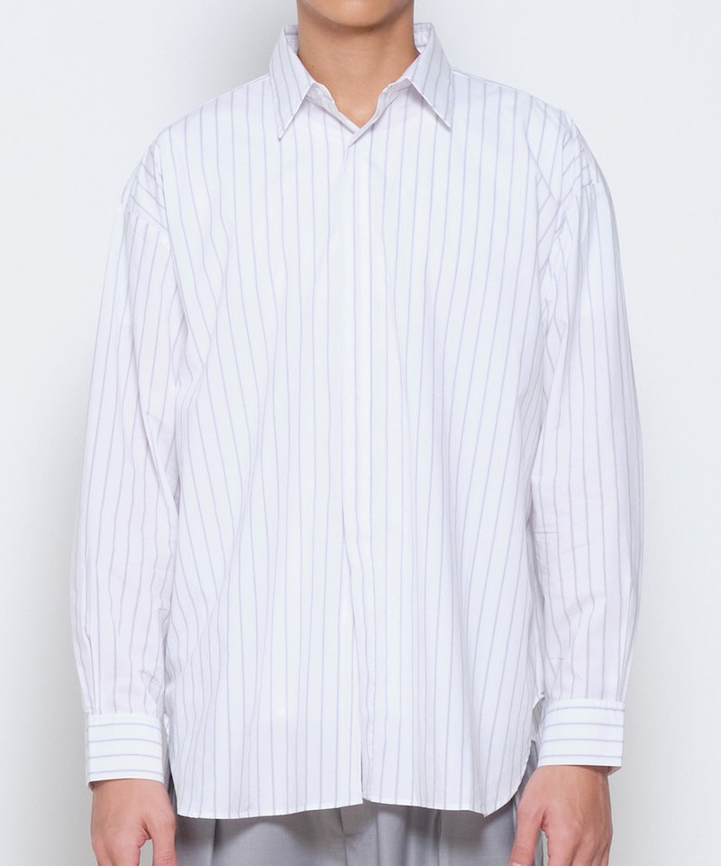 COP33149A 棉質Oversized 襯衫