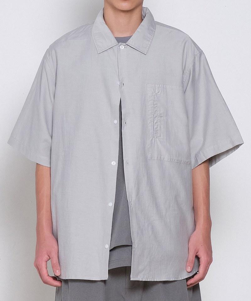 親膚棉感短袖襯衫