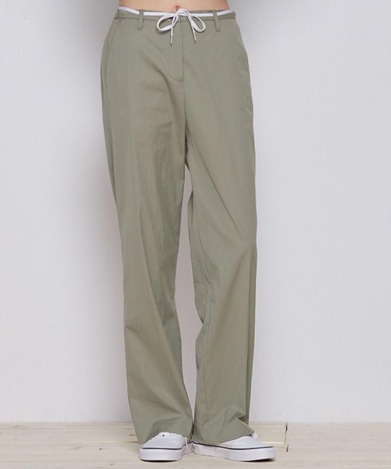 COP4061 女款高腰直筒褲