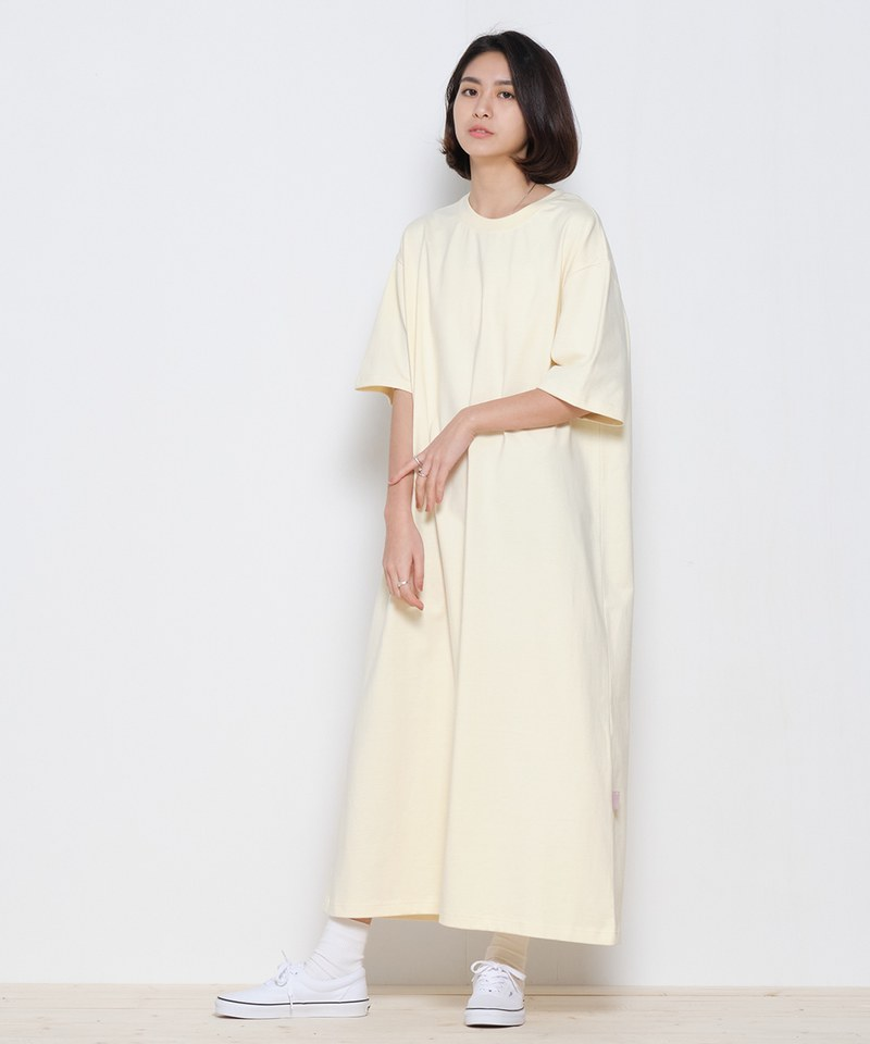 COP5009 女款重磅好感寬版洋裝