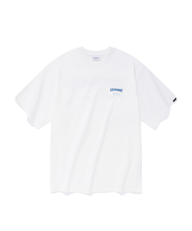 CVN0119 DRAWING LAYOUT LOGO S/S TEE 純棉短TEE