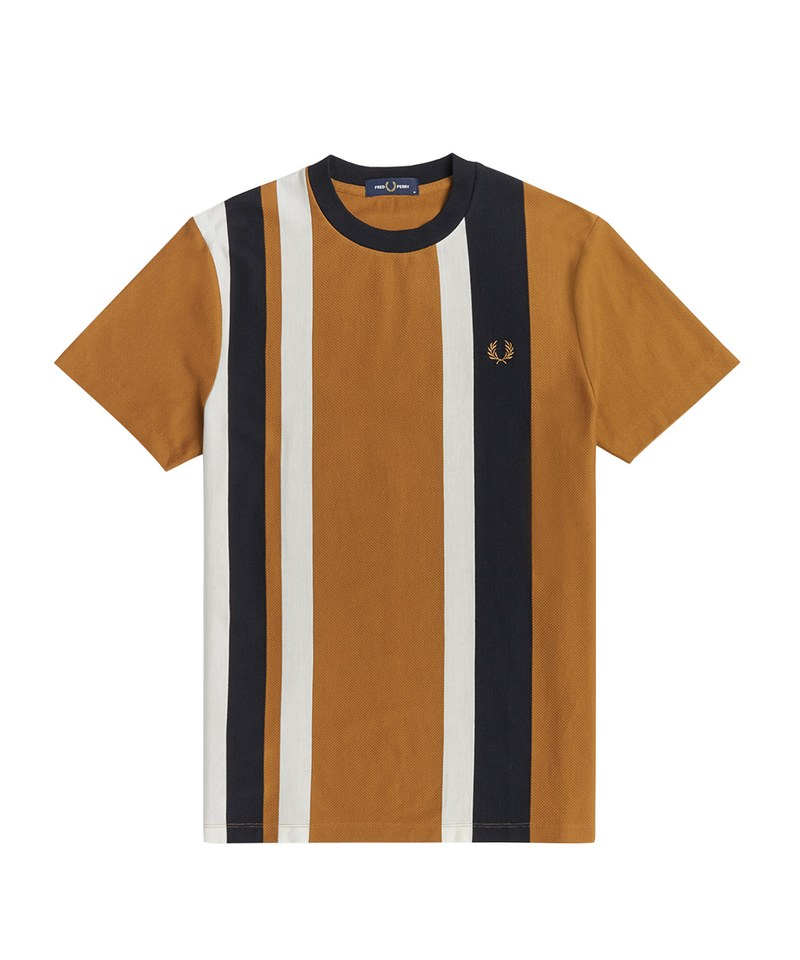 FRP0011 M1596 STRIPED PIQUE T-SHIRT 直紋棉質上衣
