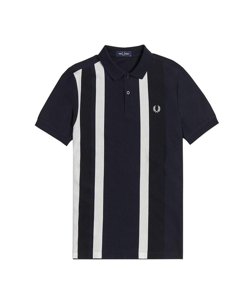 FRP3604 BOLD CUFF INSERT PIQUE SHIRT 直紋POLO衫