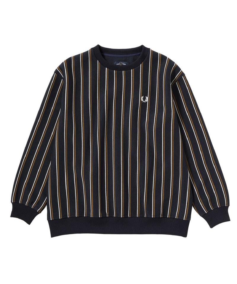 FRP99115 F1862 STRIPED CREW NECK TOP 直紋圓領上衣