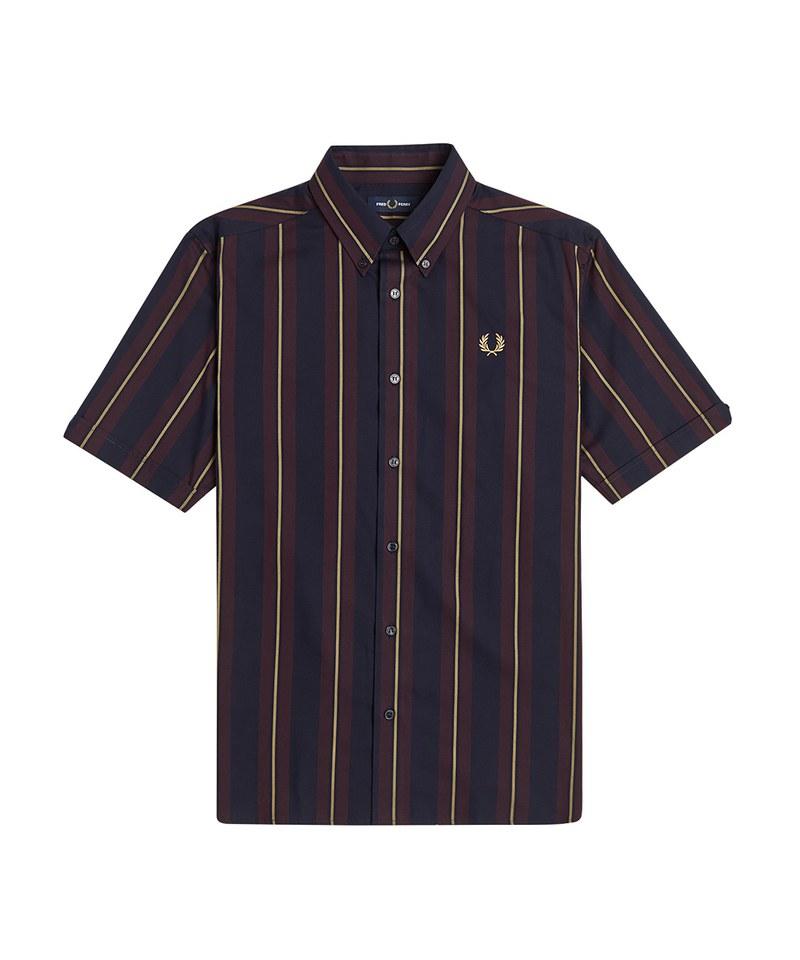 FRP99120 M1572 STRIPE SHORT SLEEVE SHIRT 直紋短袖襯衫