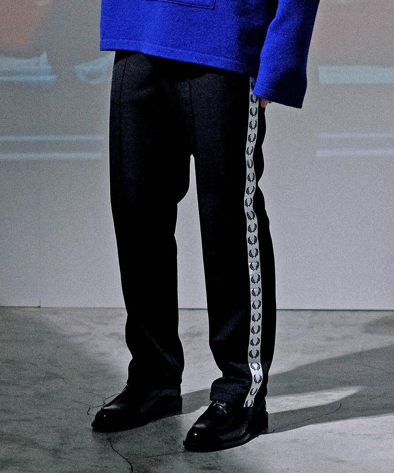 FRP9932 F4556 TAPED TRACK PANTS 月桂冠側滾邊運動褲