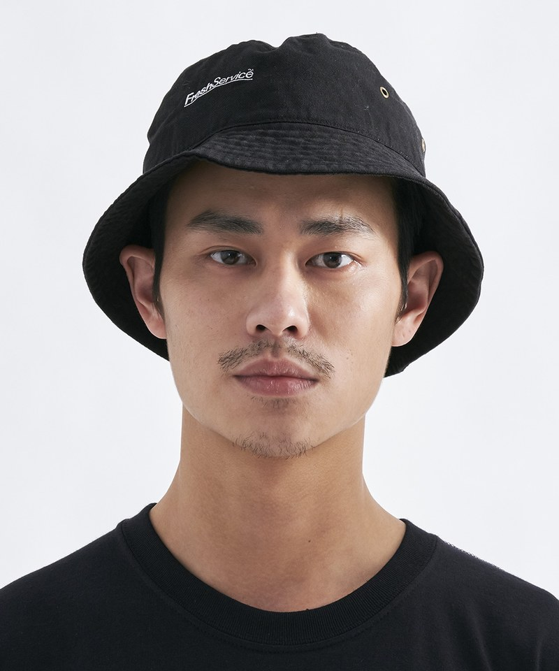 FSV2302 CORPORATE BUCKET HAT 純棉圓盤帽
