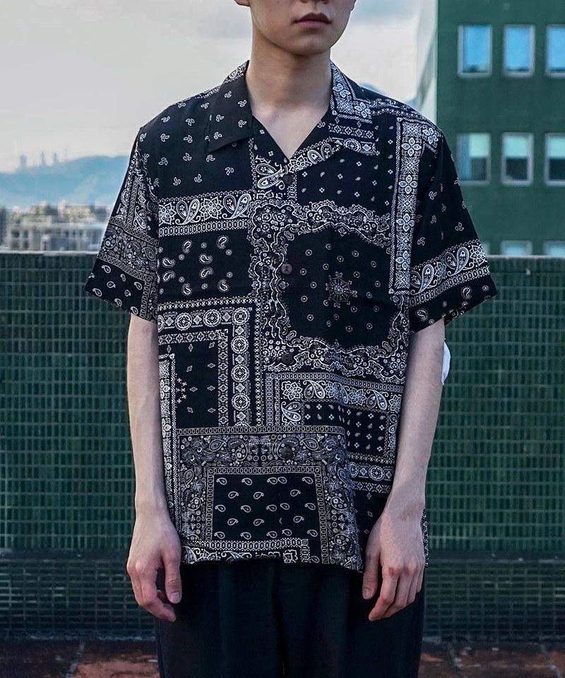 HOU0235 40816ALOHA SHIRT (BANDANA) 夏威夷襯衫