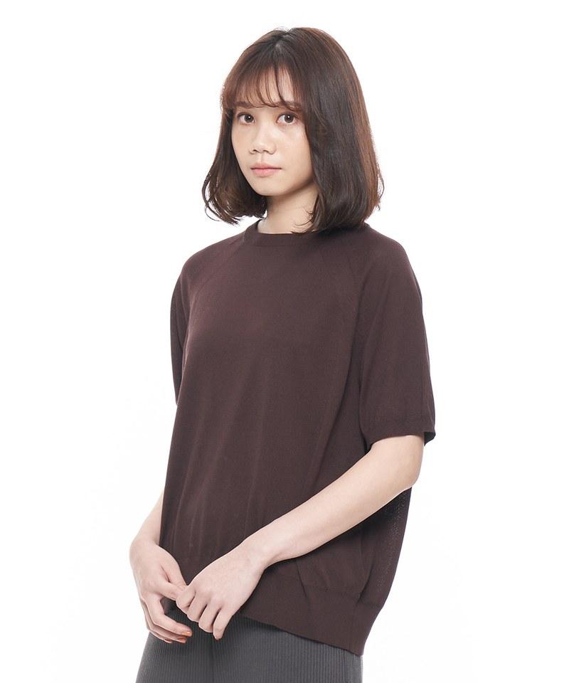 JSD0036 拉克蘭短袖羅紋上衣