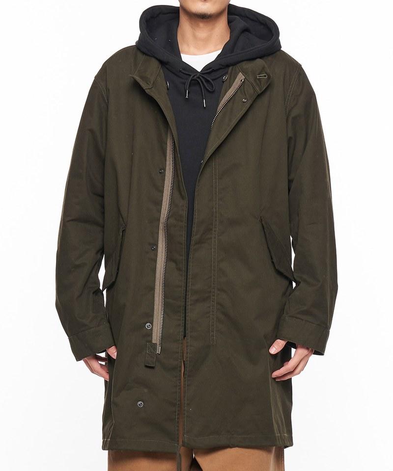 JSD0901 DOBBY MODS 軍裝魚尾大衣