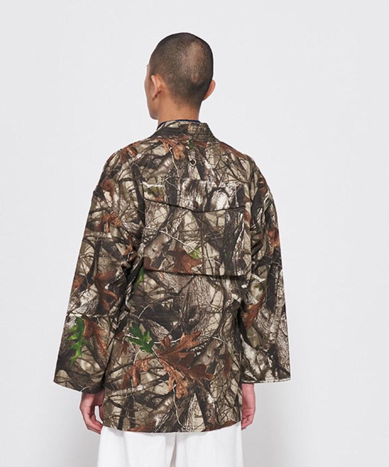 JSD1101 TAKE&SONS 聯名森林迷彩作務衣外套
