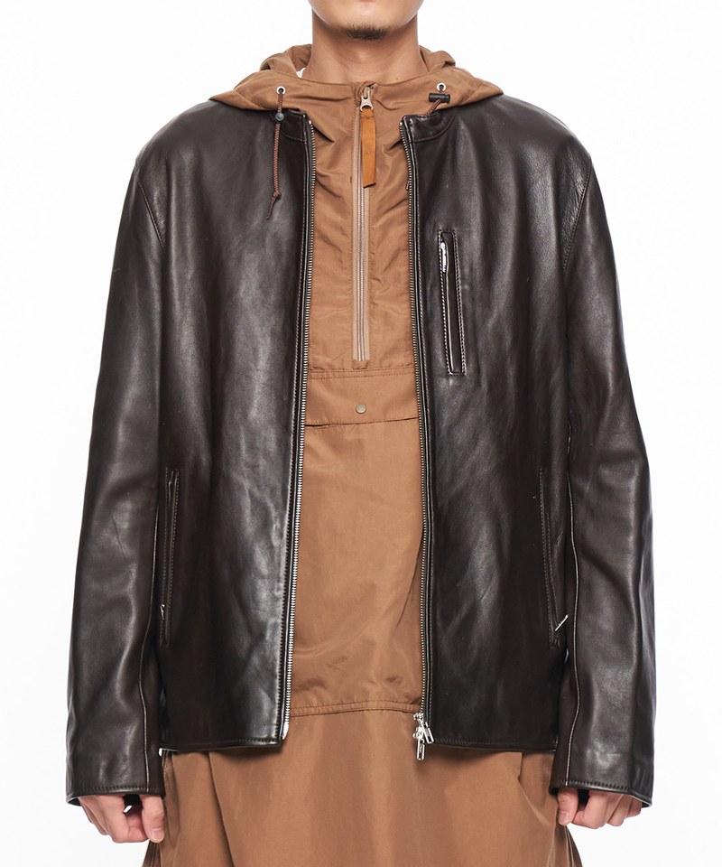 JSD1111 Lamb leather S/Riders 羊皮騎士外套