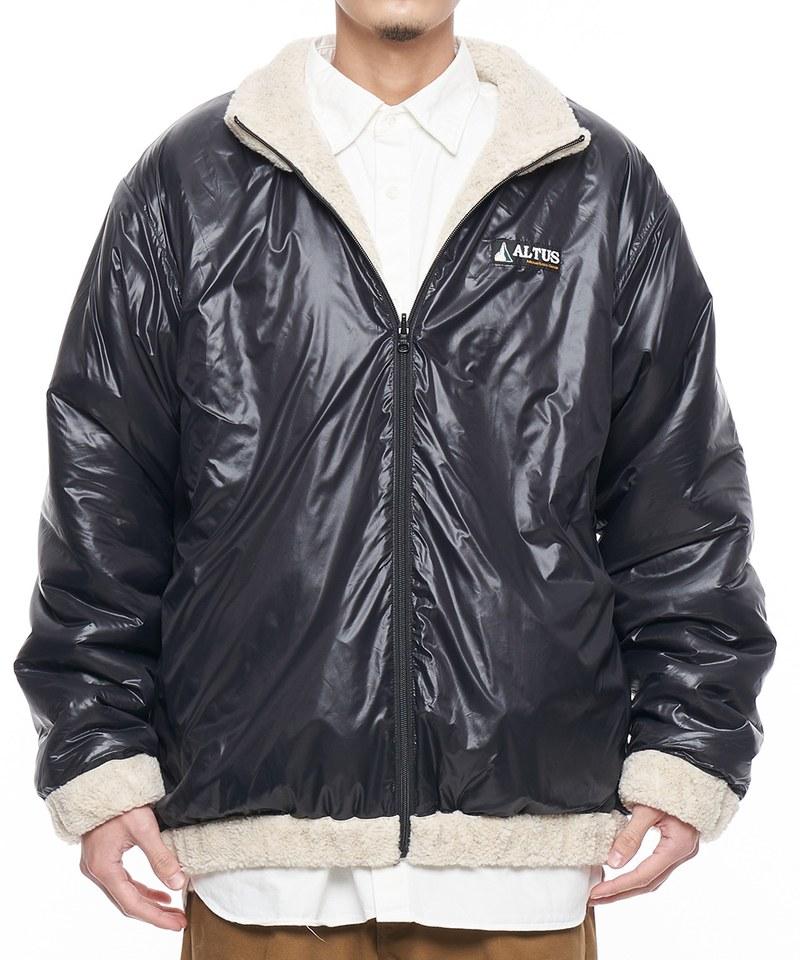 JSD1120 ALTUS*JS reversible boa nylon 雙面穿刷毛外套
