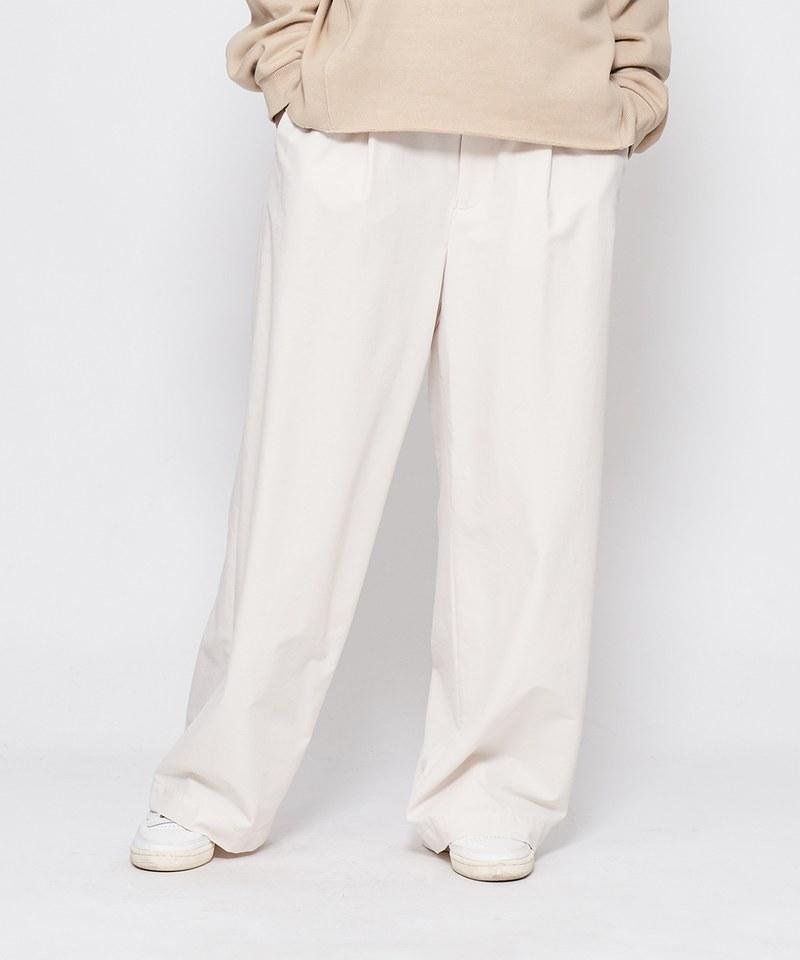 JSD1603 抗UV寬版打摺長褲