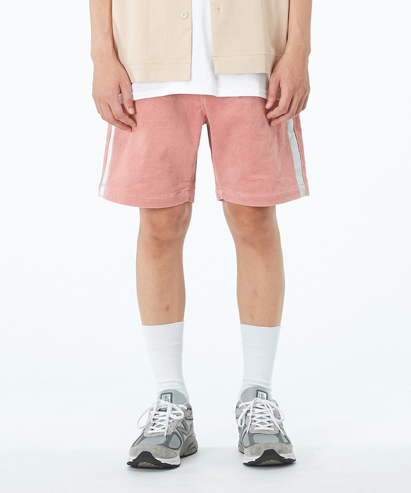 JSD1701 TONY x JS 側織帶休閒短褲