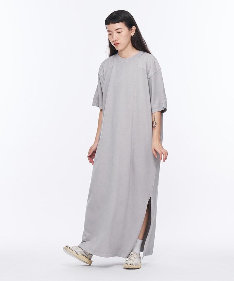JSD4009 後染棉質長版連身裙