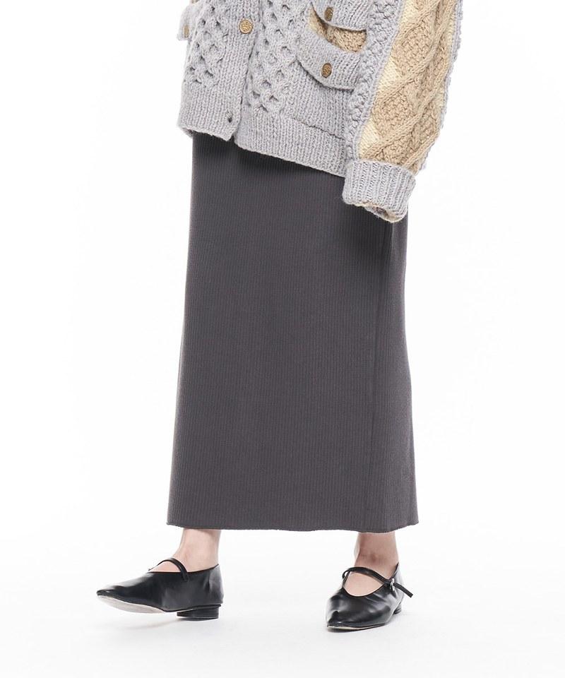 JSD4016 羅紋長裙