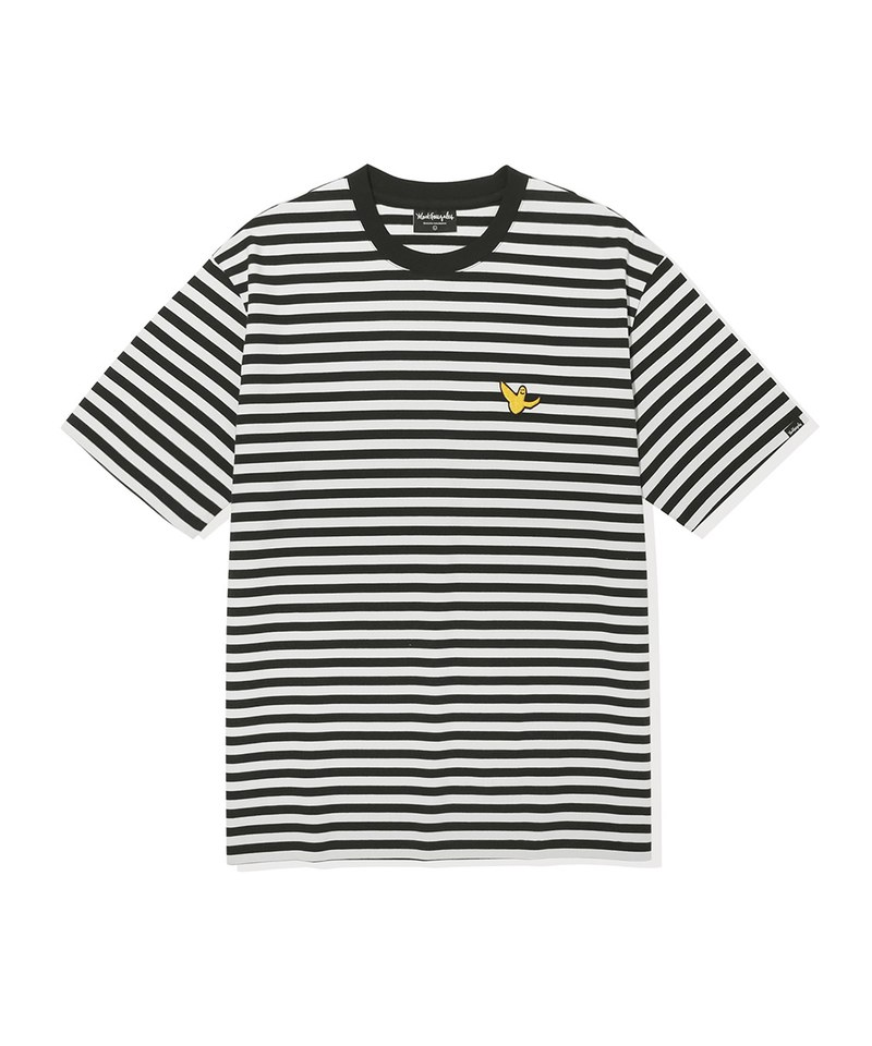 MGZ0106 圓領條紋短TEE STRIPE SHORT SLEEVE