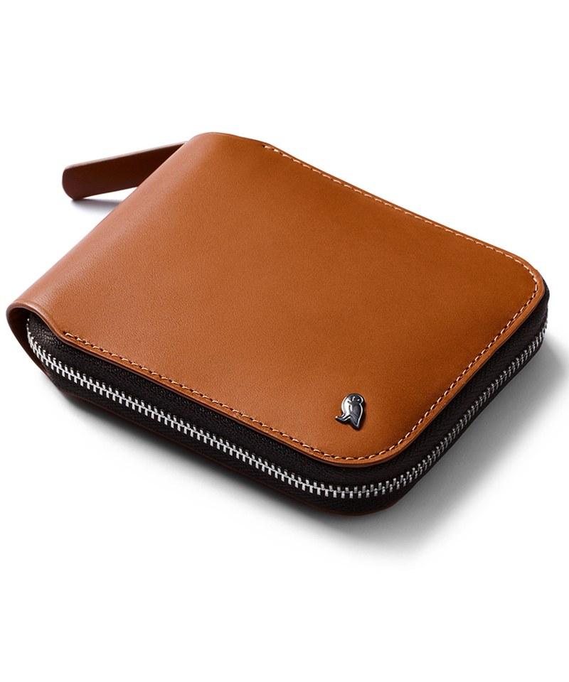 Zip Wallet 真皮拉鍊錢包