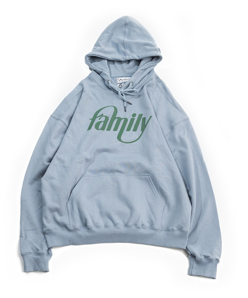 family signature hoodie 字體連帽衛衣