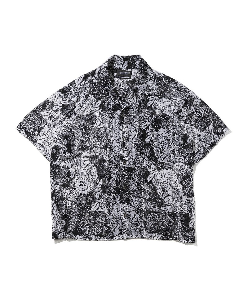 PLT9939 FLEXIBLE BOXY SHIRT 彈性開襟襯衫