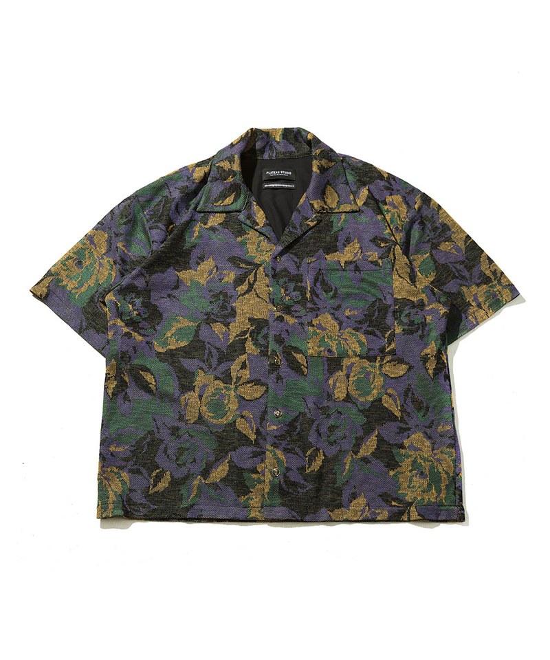 CLASSIC FLORAL SHIRT 花朵鬆身開襟襯衫