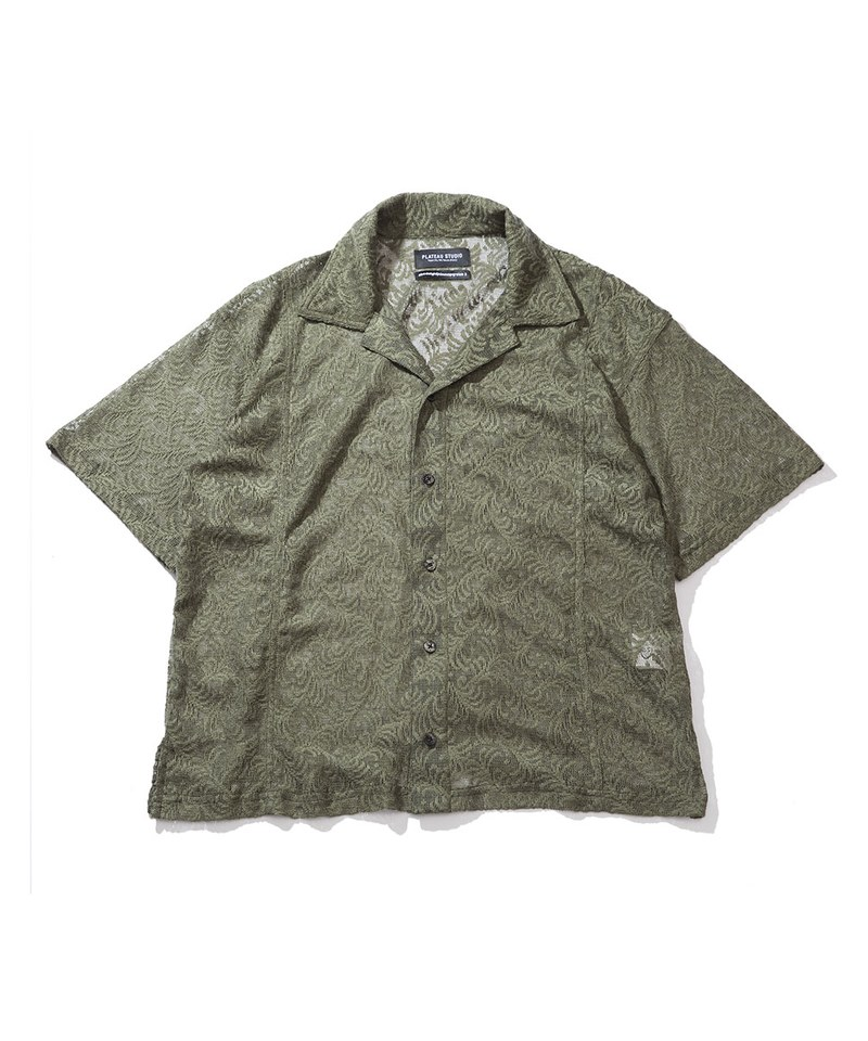 PLT9942 BOXY LACE SHIRT 蕾絲開襟襯衫