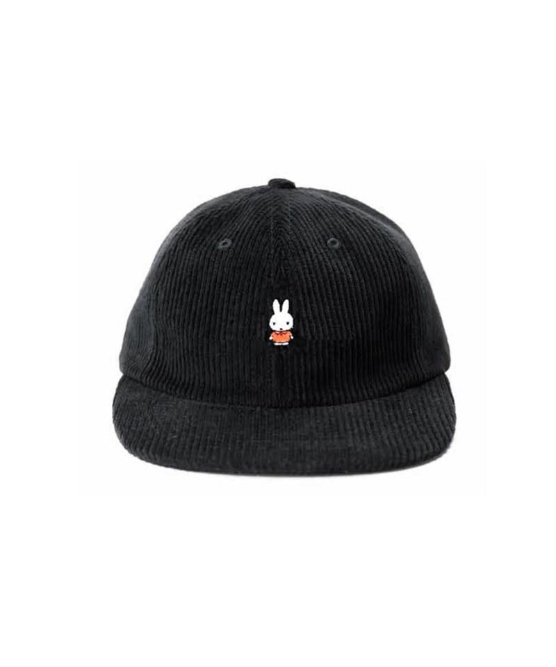 PTC2327 miffy cord sixpanel hat 米菲棒球帽