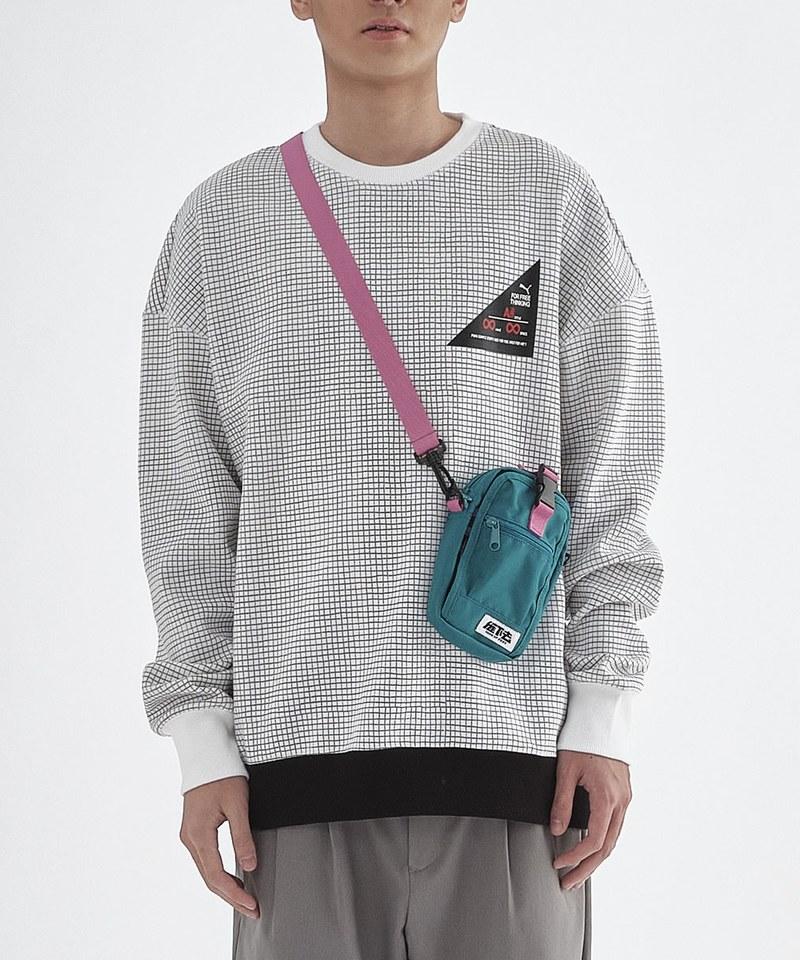 Michael Lau系列印花圓領衫(M)