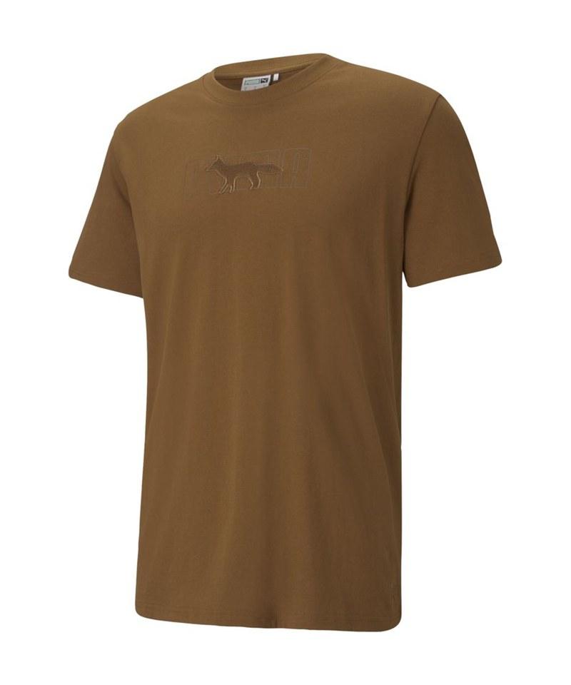 Maison Kitsune系列寬版短袖T恤(N)