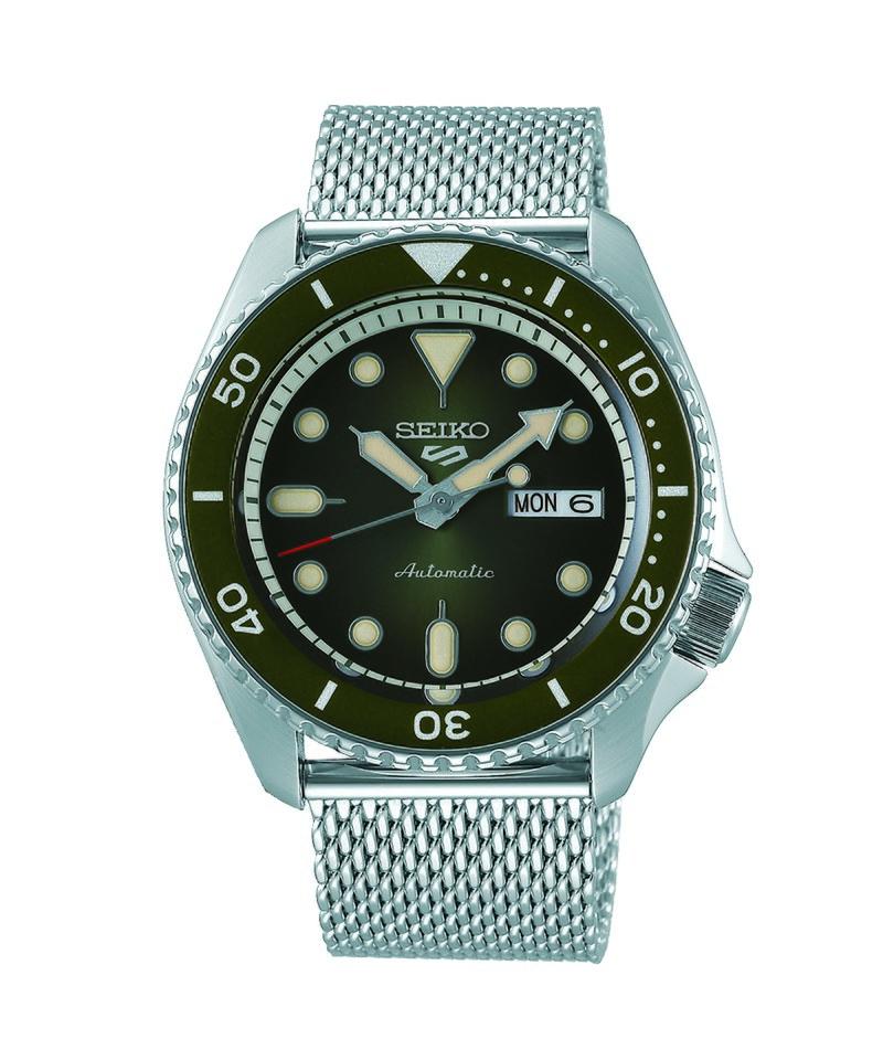 SEK9936 SRPD75K1 SEIKO 5 Suit 時尚穿搭機械錶