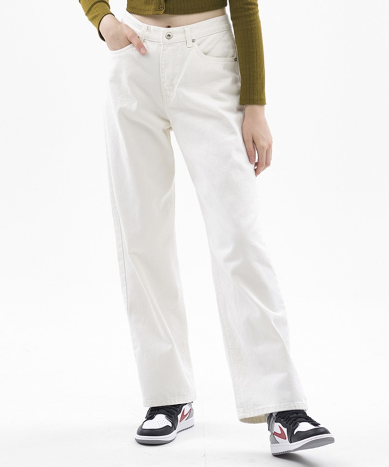 WIDE STRAIGHT DENIM 寬鬆直筒丹寧褲