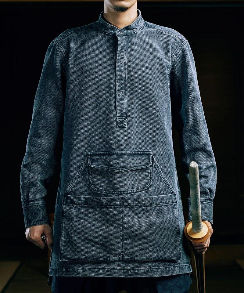WORKMAN APRON SHIRT 刺子圍裙襯衫