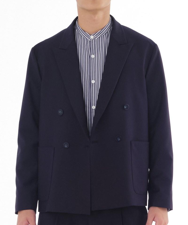 TJ1235 雙排扣西裝外套