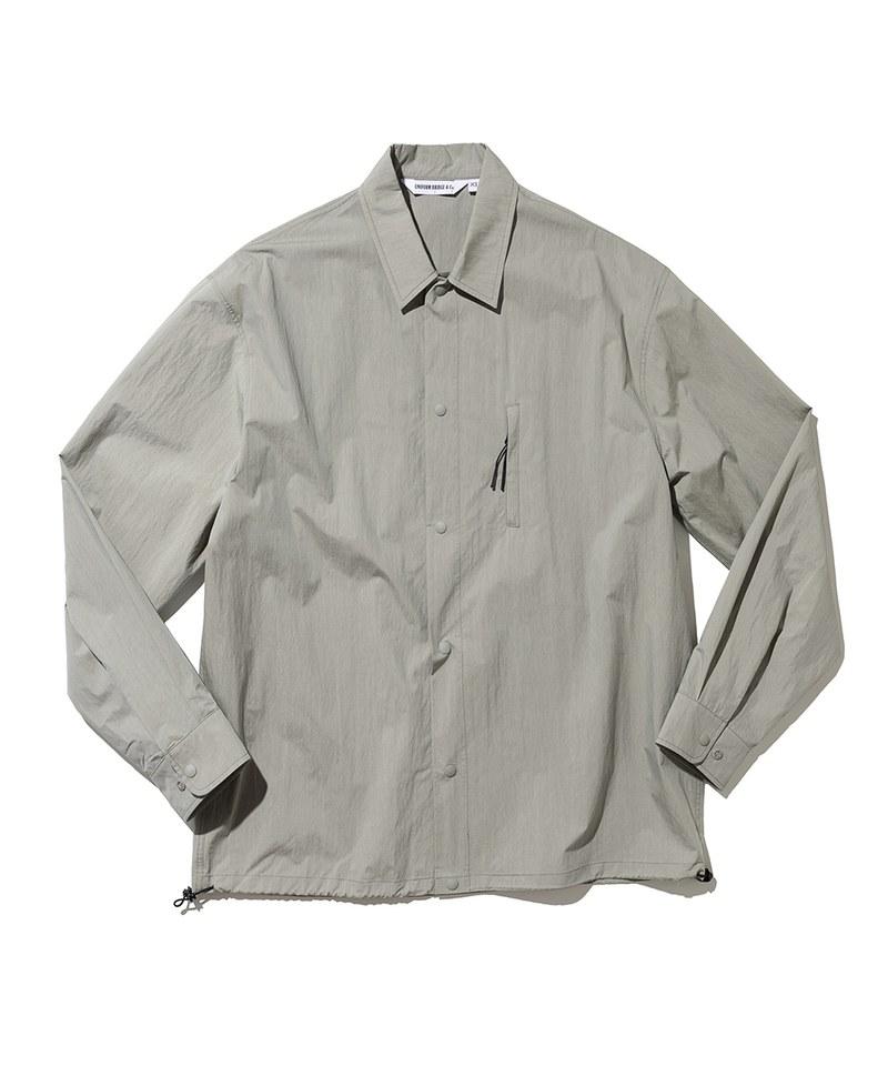 UNB0212 pocket easy shirts 素面開領襯衫