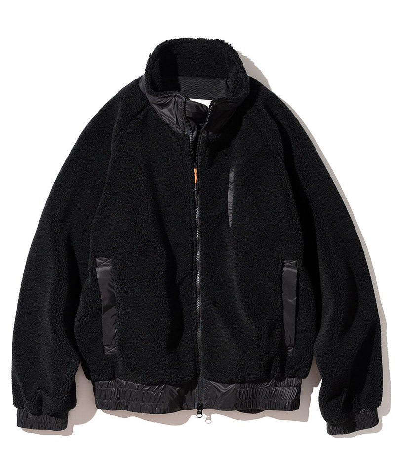 UNB1111 20FW 3Pocket Fleece Jacket 高領刷毛外套