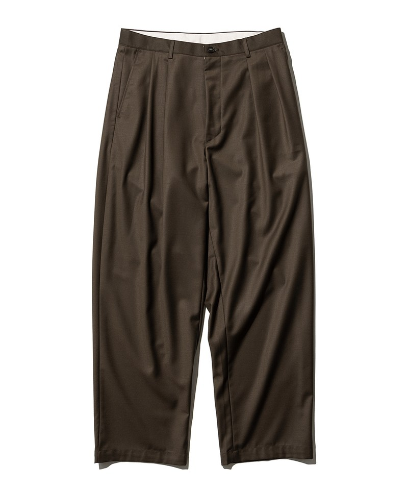 UNB1611 casual two tuck pants 打褶長褲