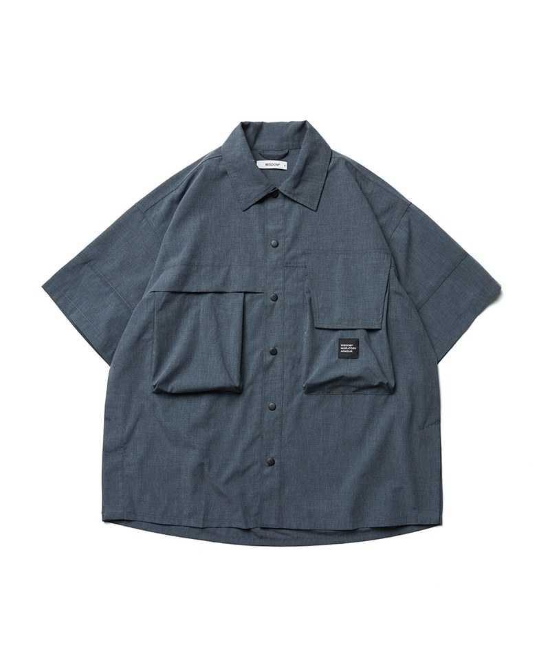 WDM0258 Two-Pockets S/S Shirt 雙口袋短襯衫
