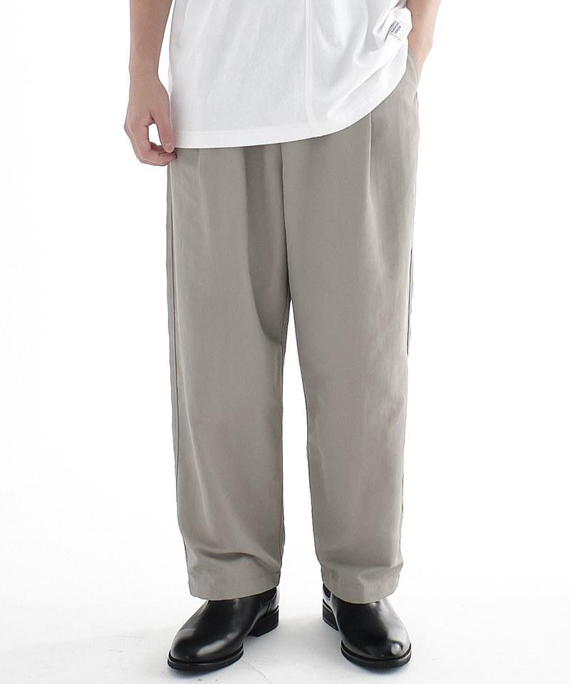WISDOM x plain-me Ctrl Alt Del Straight Trousers 直筒褲