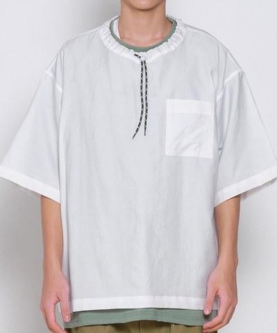 COP0172 親膚棉感抽繩套頭上衣