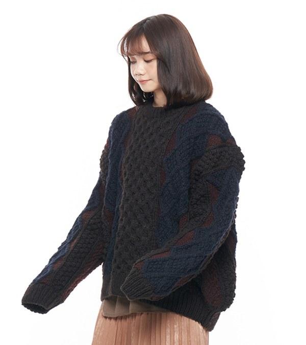 JSD0306 多色手工針織毛衣