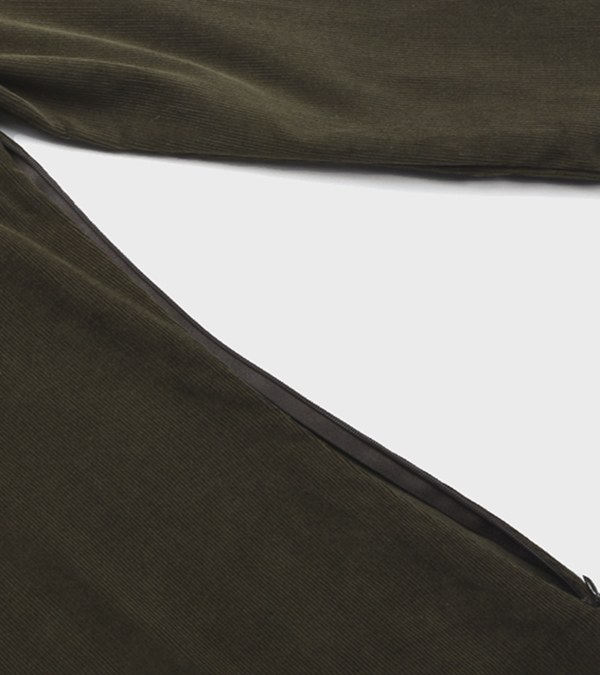 SLB0015 SIGNATURE CORDUROY ONE PIECE 燈芯絨長版上衣